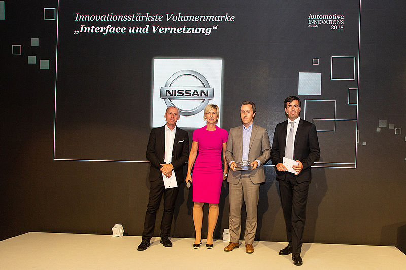 AutomotiveINNOVATIONS Award für Nissan